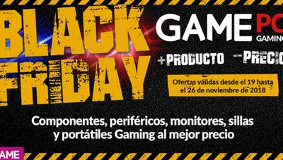 Black Friday en GAME: grandes ofertas en PC, componentes y periféricos gaming