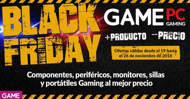 Ver noticia 'Black Friday en GAME: grandes ofertas en PC, componentes y periféricos gaming'
