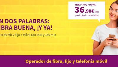 MásMóvil contrataca con Llamaya ofreciendo fibra y móvil por 36,90 euros