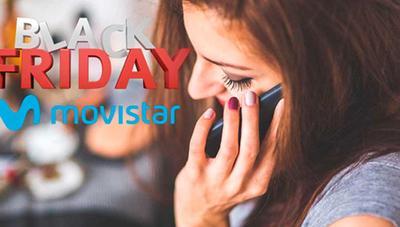 Movistar ofrece Smartphones con importantes descuentos en el Black Friday