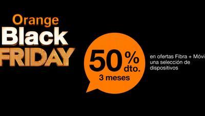 El Black Friday de Orange llega con descuentos del 50% en contrato y triple de gigas en prepago