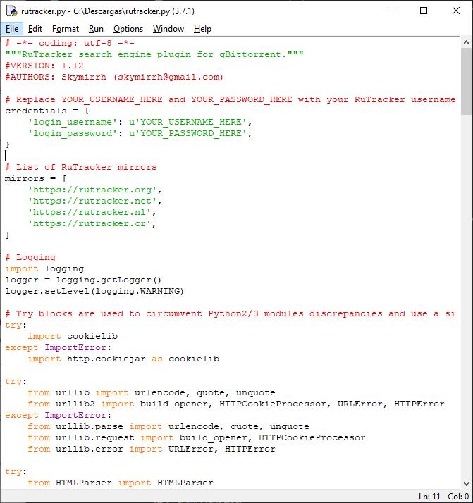 Cómo buscar torrents sin entrar en ninguna web desde qBittorrent