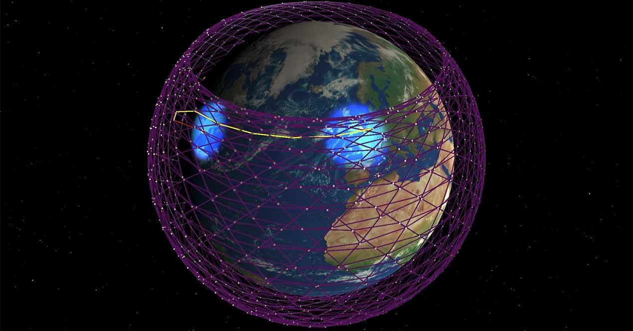 starlink internet satelite