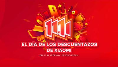 Descuentos Xiaomi el 11 del 11 con móviles, cámaras, pulseras o patinetes en oferta