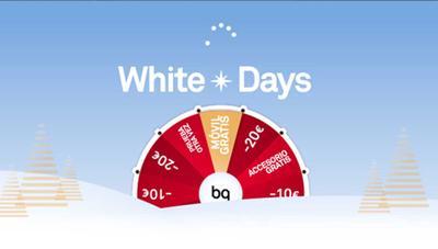 Descuentos de hasta 80 euros, accesorios y móviles gratis en los White Days de BQ