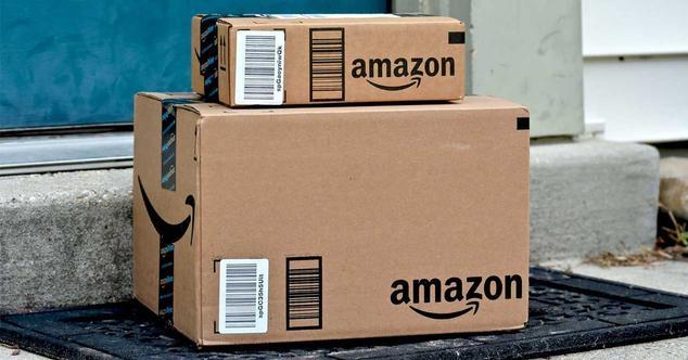 amazon cajas pedido