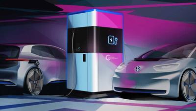 Volkswagen prepara cargadores portátiles para coches con 360 kWh