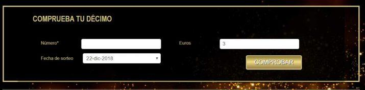 números premiados de la Lotería de Navidad