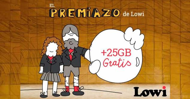 lowi 25 gigas