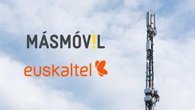 MásMóvil y Euskaltel abren la puerta a tener una red conjunta de 5G