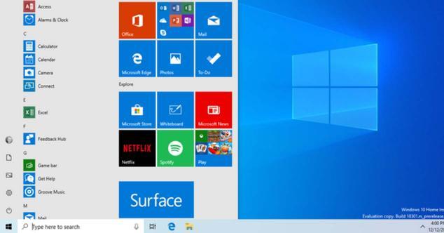 Ver noticia 'Windows 10 estrena diseño en el menú de Inicio, pero lo veremos en 2019'