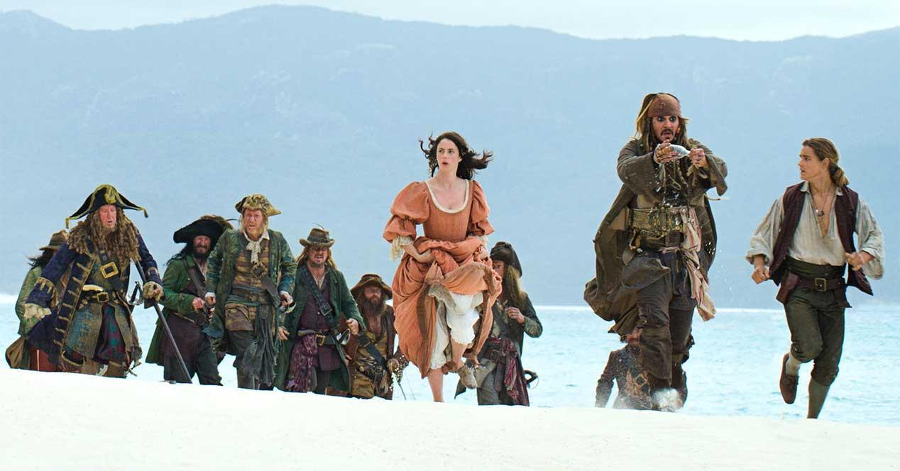 piratas del caribe estrenos netflix enero 2019