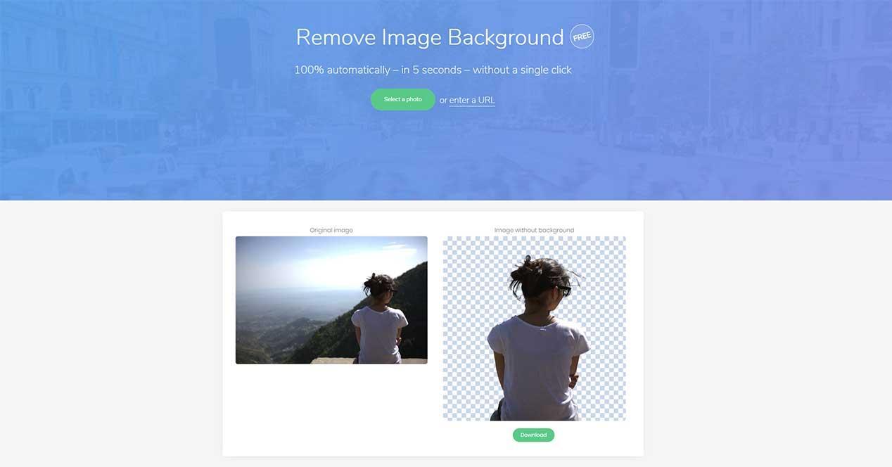 Como recortar imagenes con fondo blanco