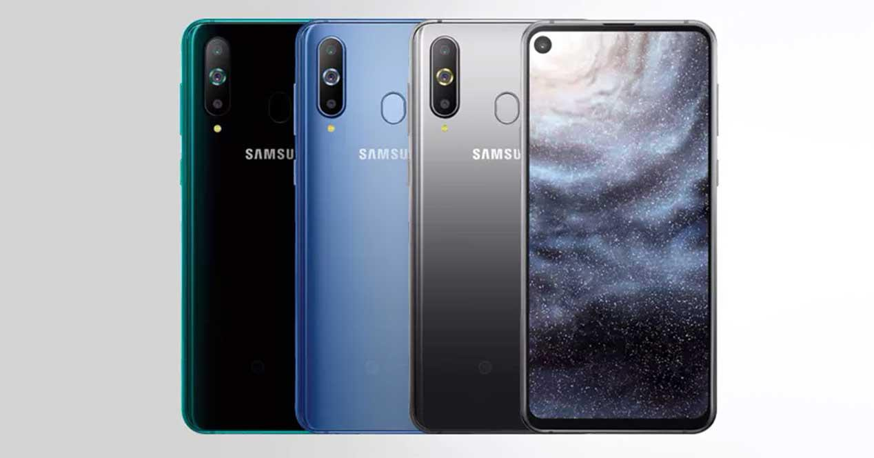 8b60aa869fbe4 Samsung Galaxy A8s  el primer móvil con cámara incluida en la pantalla ya  es oficial