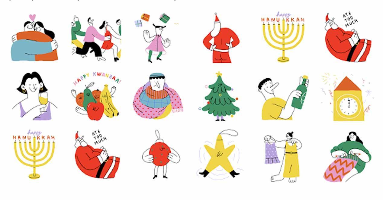 Ver noticia 'Noticia 'Descarga los stickers de Navidad de WhatsApp para Android y iOS''