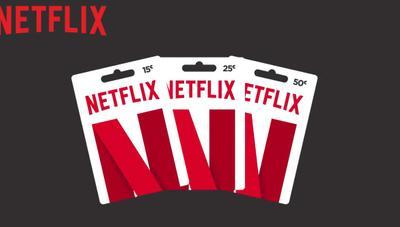 Cómo canjear una tarjeta de regalo de Netflix