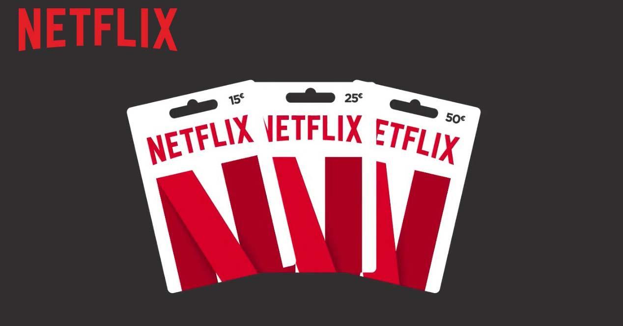 tarjeta regalo de netflix