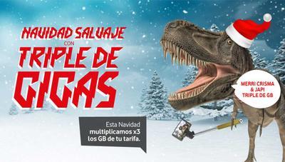 Vodafone ofrece el triple de gigas en prepago esta Navidad
