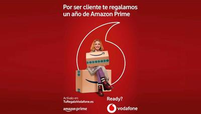 Vodafone regala 1 año de Amazon Prime: así puedes conseguirlo gratis