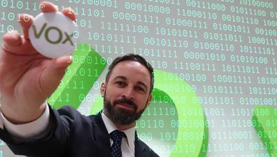 Anonymous ha hackeado la web de VOX en su 'lucha contra el franquismo'