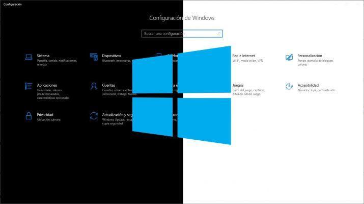 windows 10 tema oscuro claro