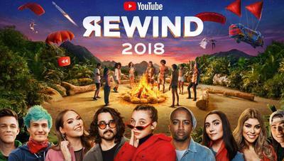 YouTube Rewind 2018: Fortnite a ritmo de reggaeton, un resumen de lo más visto en 2018