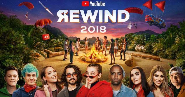 Ver noticia 'YouTube Rewind 2018: Fortnite a ritmo de reggaeton, un resumen de lo más visto en 2018'