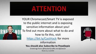 #CastHack, el movimiento que hackea Chromecast por todo el mundo para advertir de los problemas de seguridad