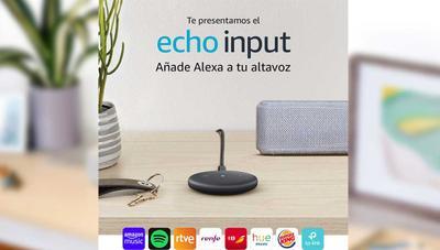 Echo Input ya disponible en España: Amazon añade Alexa a cualquier altavoz