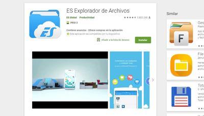 Cuidado con ES Explorador de Archivos: puede filtrar casi todos los datos de tu móvil Android