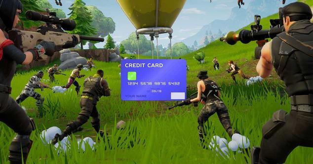 fortnite tarjeta credito