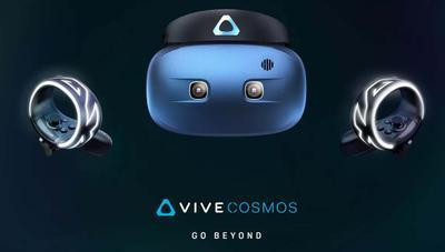 HTC Vive Cosmos: realidad virtual sin sensores externos para PC y móvil