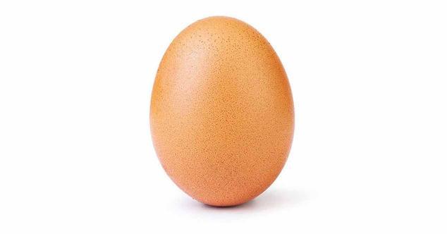 Ver noticia 'Un huevo ha batido el récord de likes en Instagram con 24 millones'
