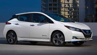 Nissan Leaf e+ con 62 kWh, un rival para el Tesla Model 3 más barato