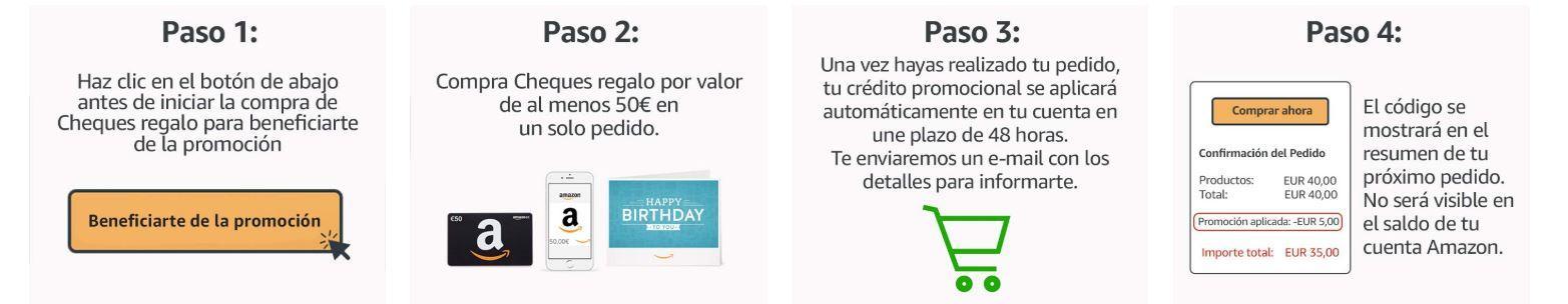 Te Regalamos Un Cheque Para Amazon