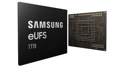 Samsung anuncia el chip de 1 TB que usarán sus móviles este año