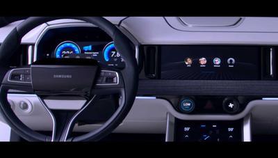 Digital Cockpit, el sistema de Samsung con 6 pantallas y 5G para los coches del futuro