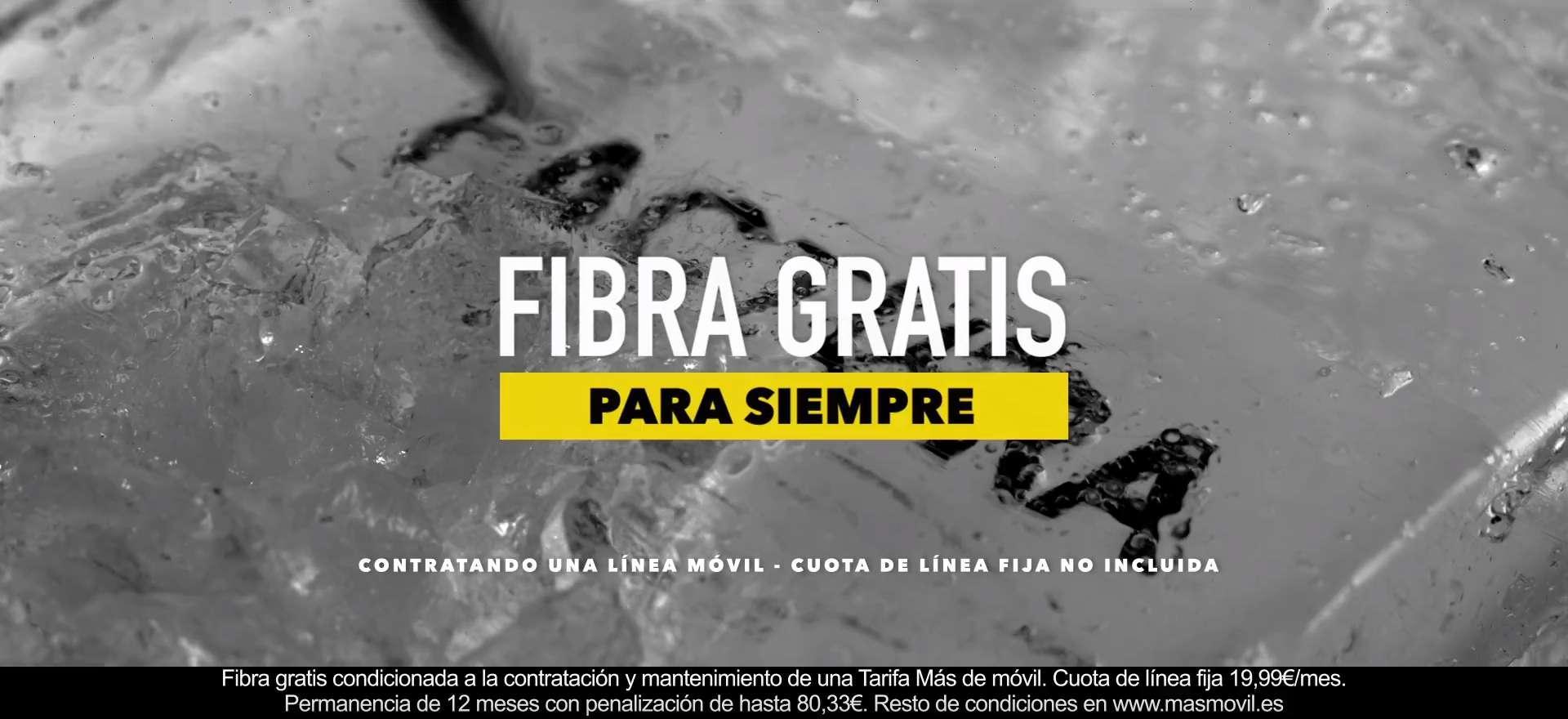 fibra gratis