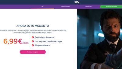 Sky rebaja su cuota a 6,99 euros ¿movimiento desesperado para ganar clientes?