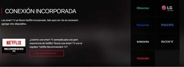 Cómo ver Netflix en una Smart TV o en cualquier televisor