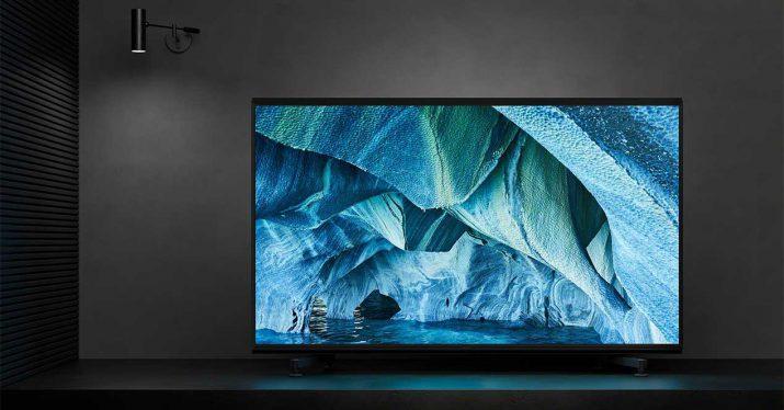sony tv 8k