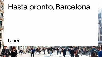 Uber y Cabify confirman su adiós a Barcelona