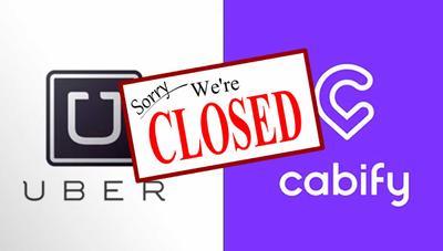 ¡El taxi gana! Uber y Cabify se van de Barcelona