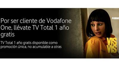 Vodafone regala de nuevo TV Total durante un año