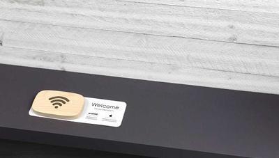 WiFi Porter, la placa de madera para conectarte a tu red WiFi
