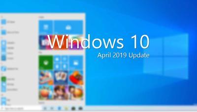Un nuevo menú de Inicio para Windows 10 April 2019 Update