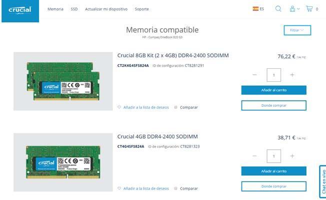 compatibles con tu PC