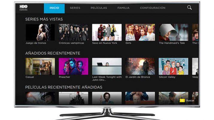ver HBO en el televisor