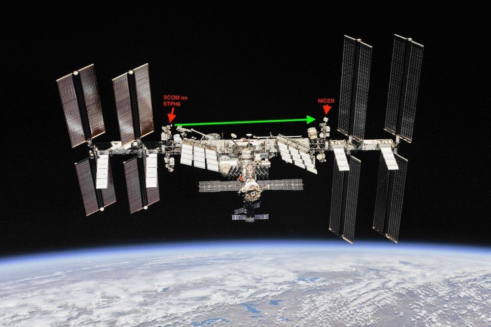 ISS rayos X