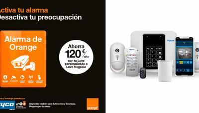 Alarma de Orange, nuevo servicio de seguridad para clientes Love